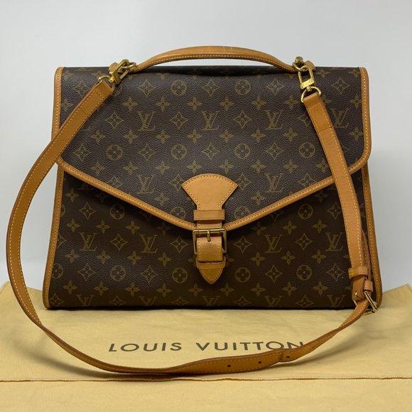LOUIS VUITTON Monogram Beverly GM Briefcase